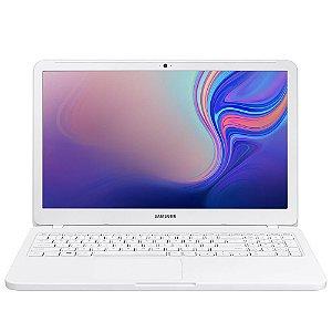 Notebook Samsung Essentials E20, Intel Celeron 4250U, 4GB, HD 500GB, Windows 10 Home, 15.6´, Branco - SAMSUNG