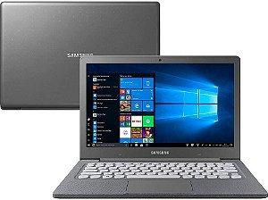 Notebook Samsung Flash F30 Intel Celeron N400, 4GB, 64GB SSD, Windows 10 Home, Grafite - Samsung