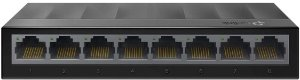 Switch 8 Portas TP-Link LiteWave LS1008G GIGABIT 10/100/1000Mbps Case Plastico - TP-Link