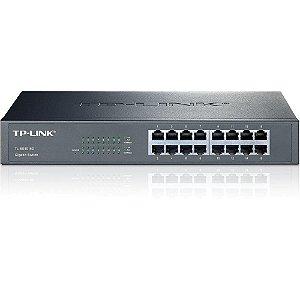 Switch 16 portas TP-Link TL-SG1016D Gigabit 10/100/1000Mbps Rack - TP-Link
