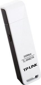 Adaptador USB Wireless TP-Link N 300Mbps TL-WN821N - TP-Link