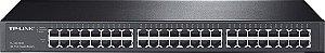 Switch Rack 48 Portas Gigabit TP-Link TL-SG1048 10/100/1000 Mbps - TP-Link