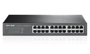 Switch Gigabit 24 Portas TP-Link TL-SG1024D 10/100/1000mbps - TP-Link
