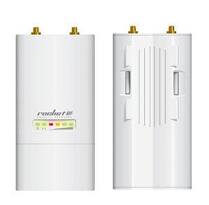 Rádio Airmax Ubiquiti Com fonte 5Ghz MIMO Rocket M5 - Ubiquiti