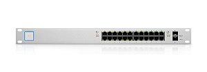 Switch Ubiquiti Unifi 26Gbps 24P POE+ 2SFP US-24-500W BR - Ubiquiti