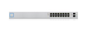 Switch Ubiquiti Unifi 16P POE RJ45 + 2P SFP US-16-150W BR - Ubiquiti