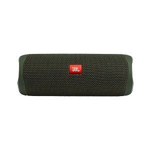 Caixa de Som Portátil JBL Flip 5 Bluetooth 20w Verde - JBL
