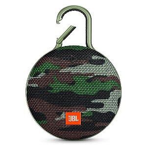 Caixa de Som Bluetooth Clip 3 Squad à Prova d´Água - JBL