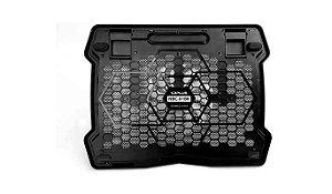Base para Notebook  com Cooler, 15,6´ Preto  NBC-01BK - C3tech