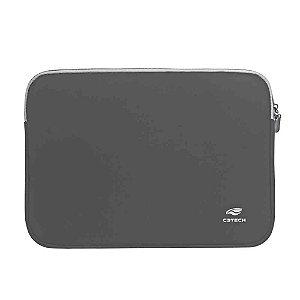 "Capa Sleeve pra Notebook Cinza 14.1"" SEATTLE SL-14GY - C3TECH"