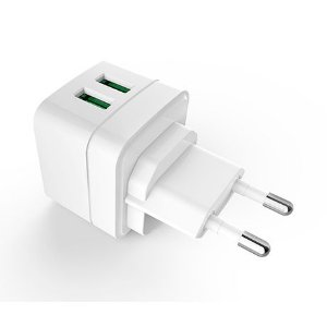 Carregador AC USB Universal UC-210WH - C3TECH