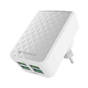 Carregador USB Universal 4 portas UC-420WH - C3TECH