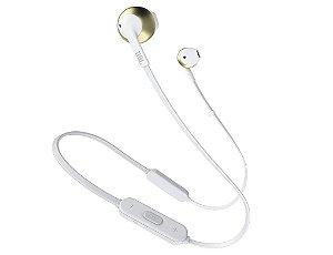Fone de Ouvido JBL In Ear Tune 205BT Dourado- JBL