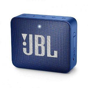 Caixa Bluetooth JBL GO2 Azul Prova d'Água - JBL