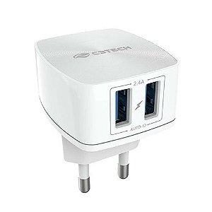 Carregador AC/USB Universal UC-240WH - C3Tech