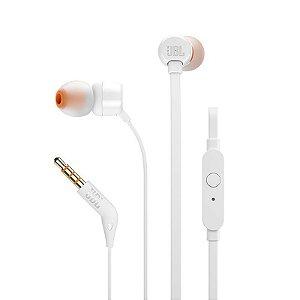 Headphone In-Ear JBL T110 Branco - JBL