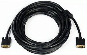 Cabo Plus Cable VGA 15M Com Filtro PC-MON15001 - Plus Cable
