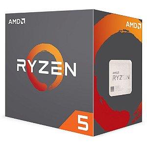 Processador AMD Ryzen 5 2600 3.4GHZ AM4 19MB Cache 65W YD2600BBAFBOX - AMD