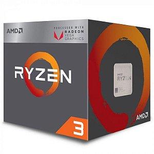 Processador AMD Ryzen 3 3200G 3.6GHZ AM4 6MB Cache 45-65W YD3200C5FHBOX - AMD