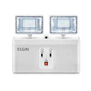 Luminária de emergência Led Bloco Autônomo 1000LM - ELGIN