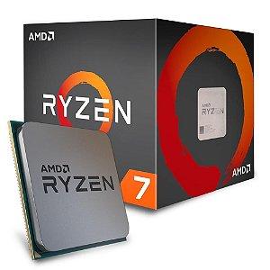 Processador AMD Ryzen 7 1800X 3.6GHz AM4 Cache 20MB 95W Sem Vídeo YD180XBCAEWOF - AMD