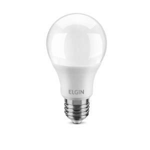 Lâmpada bulbo Led A60 7W bivolt 6500K 25000H base E27 - ELGIN