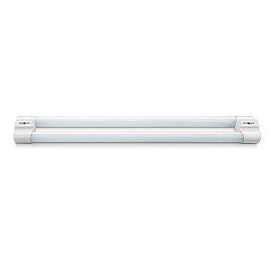 Luminária LED Duoline Tubular Dupla Sobrepor 2x9W bivolt 6500k - Elgin