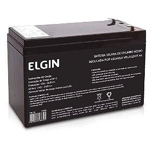 Bateria selada de chumbo VRLA 12V 7ah - Elgin