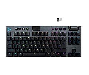 Teclado Mecânico Gamer Sem Fio G915 TKL Preto -  Logitech