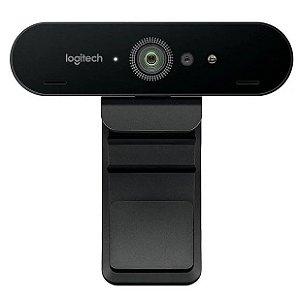 Webcam UltraHD 4K BRIO - Preto - Logitech