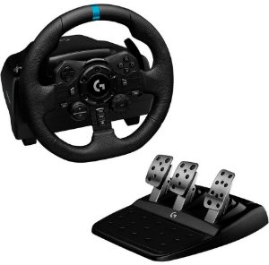 Volante Logitech G923 - PS5 PS4 PC com Force Feedback Trueforce - 941-000148 - Logitech