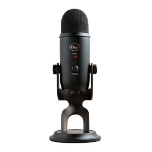 Microfone Condensador USB Blue Yeti Blackout 988-000100 Preto - Logitech