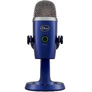 Microfone Condensador USB Blue Yeti Azul 988-000089 - Logitech