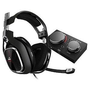 Headset ASTRO Gaming A40 TR + MixAmp Pro TR Gen 4 com Áudio Dolby Compatível Xbox One, PC, Mac - Logitech
