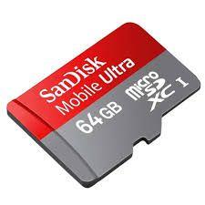 Cartão de Memoria Micro SD 64GB Sandisk Classe 10 - Sandisk