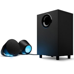 Caixa de Som Gamer Logitech G560, 7.1 Ultra Surround, 240W, RGB Lightsync, USB, P3, Bluetooth, 980-001310 - Logitech