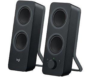 Caixa de Som para PC Logitech Z207 Bluetooth 4.1 10W P3 - Logitech