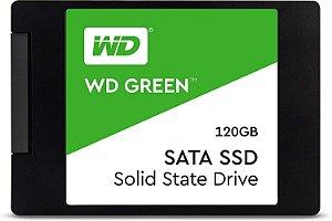 """SSD WD Green 120Gb Sata 3, 2.5"""", 7mm, Leitura 545MB/s, Gravação 430MB/s WDS120G2G0A - Western Digital"""