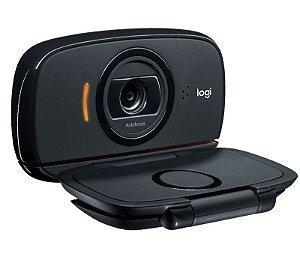Webcam Logitech C525 HD 720p 30fps Rotação 360 Graus - Logitech