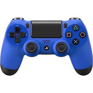 Controle para PS4 sem Fio Dualshock 4 Azul - Sony