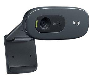 Webcam Logitech C270 HD 720p 3MP Widescreen - Logitech