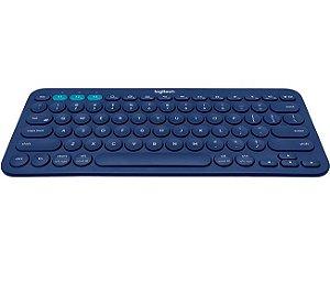 Teclado Bluetooth Multi-Device Logitech K380 Azul - Logitech