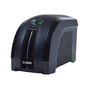 Nobreak TS Shara UPS Mini 600VA 390W Entrada Bivolt/Saída 115V Black 4003 - TS Shara