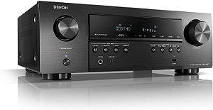 Receiver Denon AVR-S540BT 5.2CH 4K HDMI Bluetooth - Denon