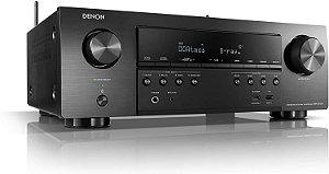 Receiver Denon AVR-S750H  7.2 Canais Ultra HD 4K com 140W por canal - Denon