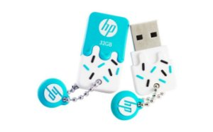 Pen drive  32Gb HP V178  USB  Blue - HP