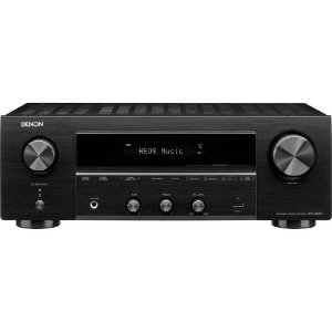 Receiver Denon DRA-800H 2-Canais Estéreo Network 4K UHD HDR Bluetooth USB Phono Preto - Denon