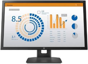Monitor HP LED 23.6´ Widescreen, Full HD, IPS, VGA, Display Port, HDMI, Altura Ajustável V24B - HP