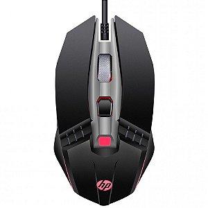 Mouse Gamer HP M270, 2400 DPI, 5 Botões, LED, Preto - HP