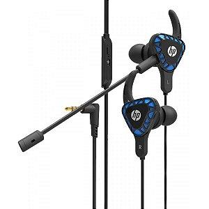 Fone de Ouvido Gamer HP H150, P2, Intra Auricular, Blue - HP